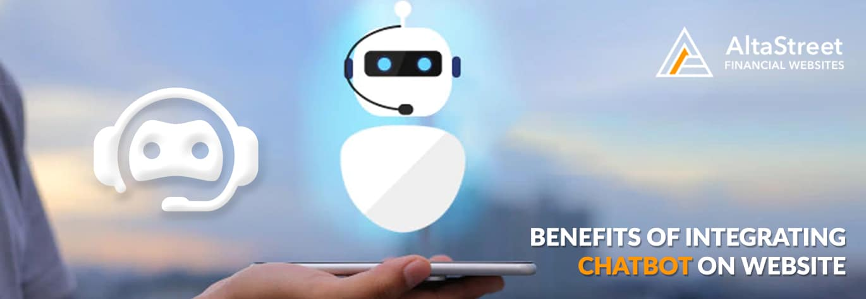 benefits of chatbot on website - altastreet